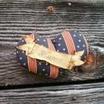 Primitive Americana Heart -..