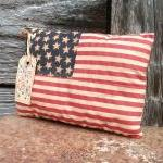 Primitive July 4 Flag Deco..